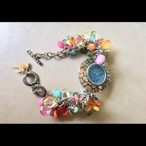 Accessories - Fun confetti beaded watch